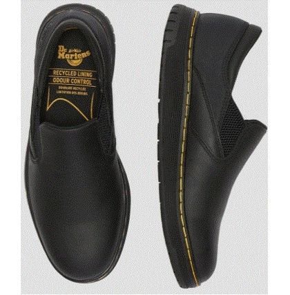 Street Style Leather Logo Loafers & Slip-ons