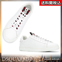 D SQUARED2 Street Style Plain Leather Sneakers
