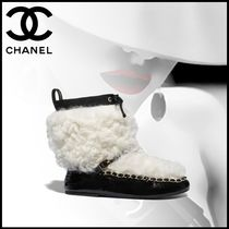 CHANEL Elegant Style Ankle & Booties Boots