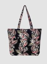 Seafolly Tropical Patterns Casual Style Street Style A4 Logo Totes