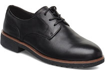 Clarks Leather Flats