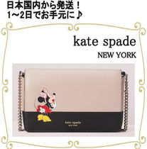 kate spade new york Collaboration Bi-color PVC Clothing Shoulder Bags