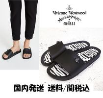 Vivienne Westwood Collaboration Shower Shoes PVC Clothing Shower Sandals