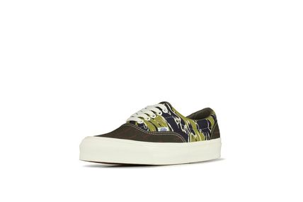 Camouflage Unisex Street Style Sneakers