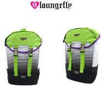 LOUNGE FLY Casual Style Street Style Collaboration Backpacks
