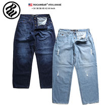 Roca Wear Unisex Street Style Cotton Oversized Jeans & Denim