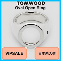 Tom Wood Unisex Handmade Silver Rings