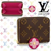 Louis Vuitton ZIPPY COIN PURSE Monogram Blended Fabrics Leather Coin Purses