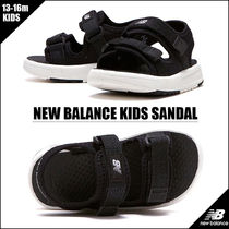 New Balance Unisex Blended Fabrics Street Style Kids Girl Sandals