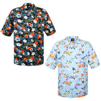 THE NORTH FACE WHITE LABEL Flower Patterns Tropical Patterns Short Sleeves Shirts