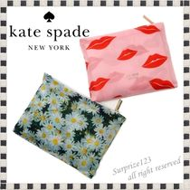 kate spade new york Flower Patterns Street Style A4 Shoppers