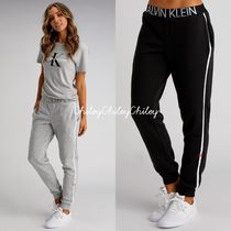 Calvin Klein Casual Style Plain Cotton Long Pants