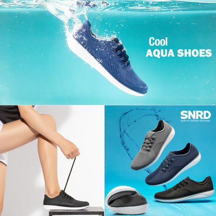 Round Toe Rubber Sole Casual Style Shoes