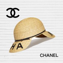 CHANEL Straw Hats
