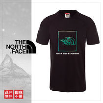 THE NORTH FACE Crew Neck Unisex Short Sleeves Crew Neck T-Shirts