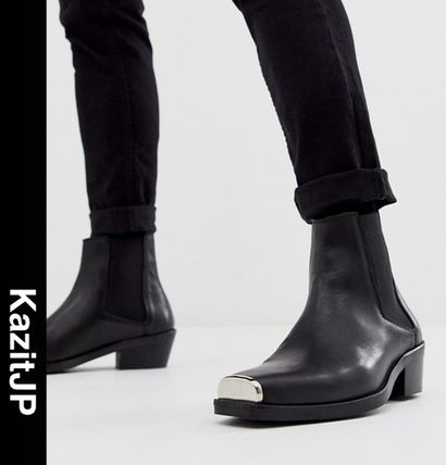 Street Style Leather Chelsea Boots Chelsea Boots