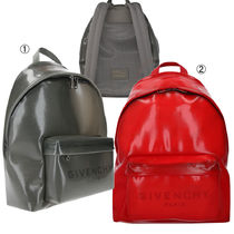 GIVENCHY Street Style PVC Clothing Backpacks
