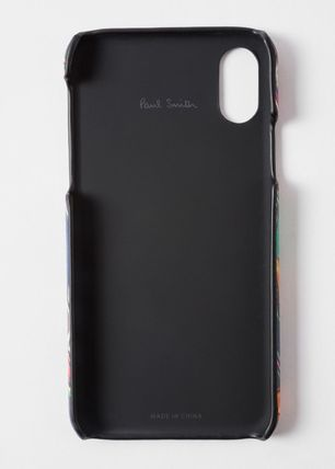 Paul Smith Smart Phone Cases Unisex Leather Smart Phone Cases 4