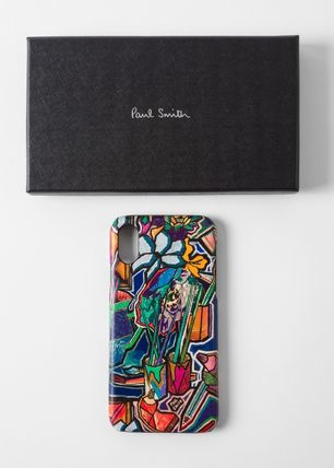 Paul Smith Smart Phone Cases Unisex Leather Smart Phone Cases 5