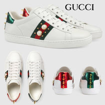 GUCCI Ace Casual Style Street Style Office Style Formal Style