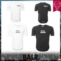 BALR Crew Neck Street Style Short Sleeves Crew Neck T-Shirts