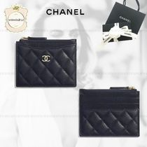 CHANEL TIMELESS CLASSICS Leather Card Holders