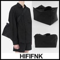 HI FI FNK Casual Style Unisex Street Style Shoulder Bags