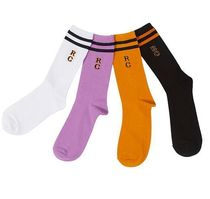 ROMANTIC CROWN Unisex Street Style Socks & Tights