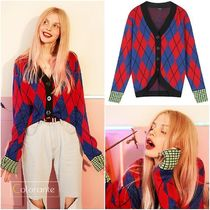 ELF SACK Casual Style Street Style Cardigans