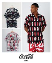 KITH NYC Button-down Tropical Patterns Unisex Street Style