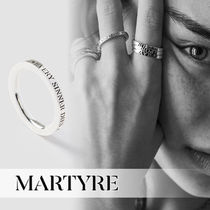 Unisex Street Style Silver Rings