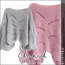 Chicwish Casual Style Long Sleeves Medium Sweaters