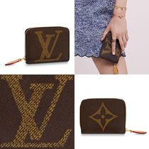Louis Vuitton ZIPPY COIN PURSE Monogram Unisex Leather Handmade Coin Purses