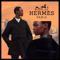 HERMES Cashmere Peacoats