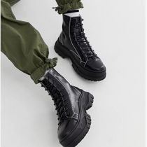 ASOS Leather U Tips Boots