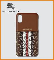 Burberry Monogram Unisex Smart Phone Cases