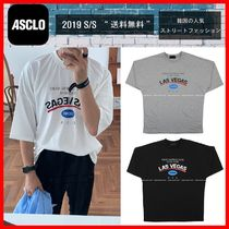 ASCLO Street Style Cotton Short Sleeves T-Shirts