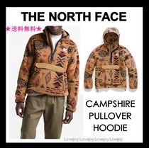 THE NORTH FACE Pullovers Nylon Blended Fabrics Street Style Long Sleeves