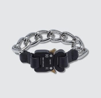 Blended Fabrics Street Style Chain Leather Bracelets