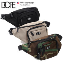DOPE couture Camouflage Unisex Nylon Street Style Bags