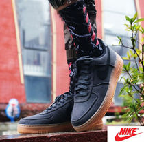 Nike AIR FORCE 1 Unisex Street Style Oversized Sneakers
