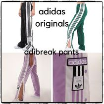 adidas Stripes Casual Style Street Style Long Pants