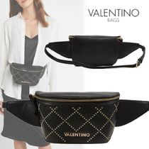 Mario Valentino Casual Style Studded Street Style Hip Packs