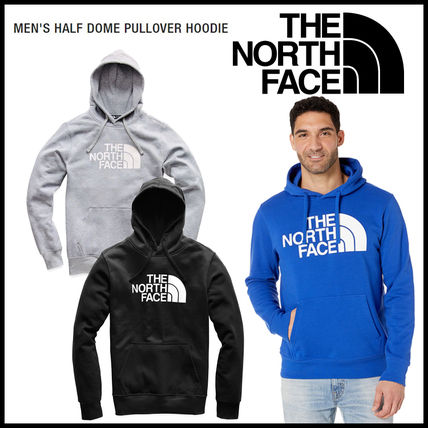 THE NORTH FACE Hoodies Pullovers Street Style Long Sleeves Cotton Outdoor Hoodies