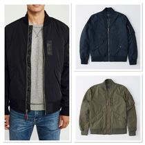 Abercrombie & Fitch Street Style Plain Jackets