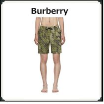 Burberry Khaki Beachwear