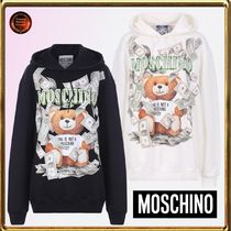 Moschino Long Sleeves Other Animal Patterns Cotton Oversized