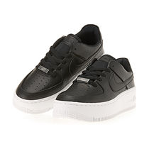Nike AIR FORCE 1 Platform Casual Style Street Style Leather Logo