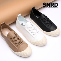 paperplanes Round Toe Rubber Sole Casual Style Plain PVC Clothing