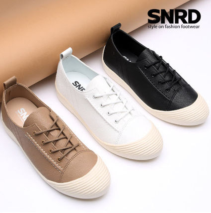 Round Toe Rubber Sole Casual Style Plain PVC Clothing